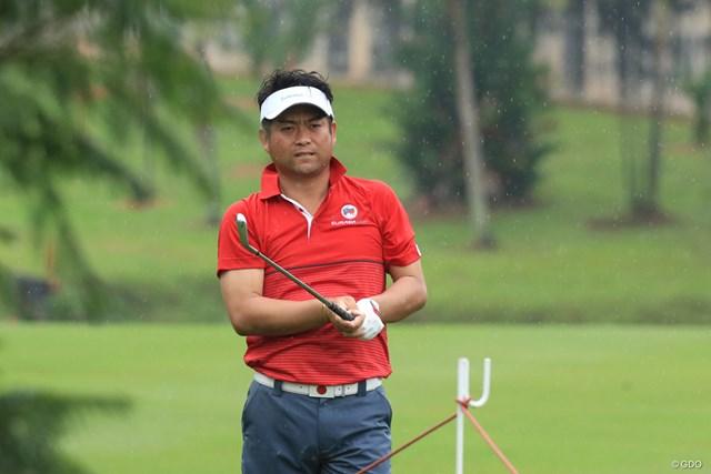 チームアジアで世界ランク最上位の池田勇太
