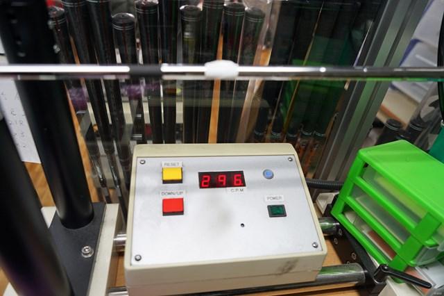 標準装着シャフト「ダイナミックゴールド95」の振動数は296cpm。カスタム専用オーダーモデルなので、シャフトの選択肢が多いのが魅力