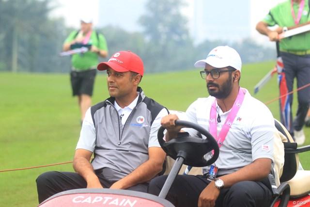アジア初優勝を目指すキャプテンのアージュン・アトワル(左)
