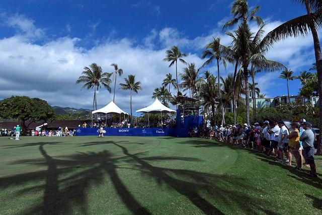 混乱は生じたが、大会は通常通り開催された(※Stan Badz/PGA TOUR)