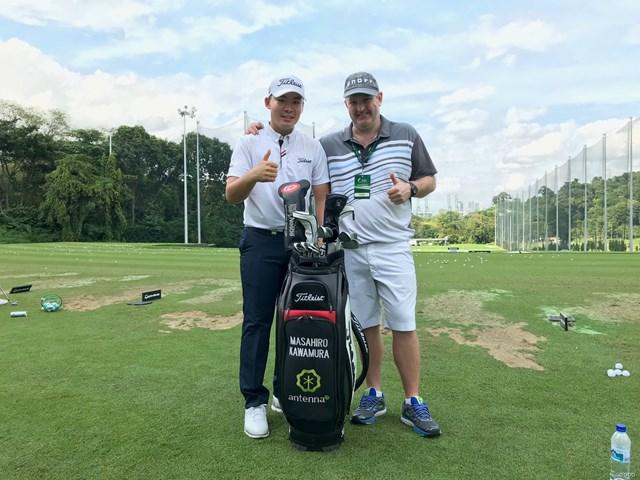 旅するプロゴルファー・川村昌弘。クラブを片手に世界を飛び回る