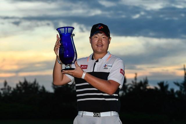 ウェブドットコムツアーでデビュー戦Vを飾った19歳のイム・ソンジェ(Ryan Young/PGA TOUR)