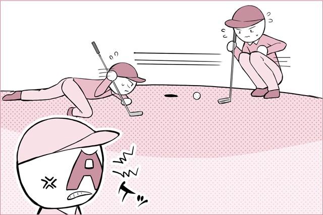 ロッカールームでヘトヘトに…【A型ゴルファーあるある】