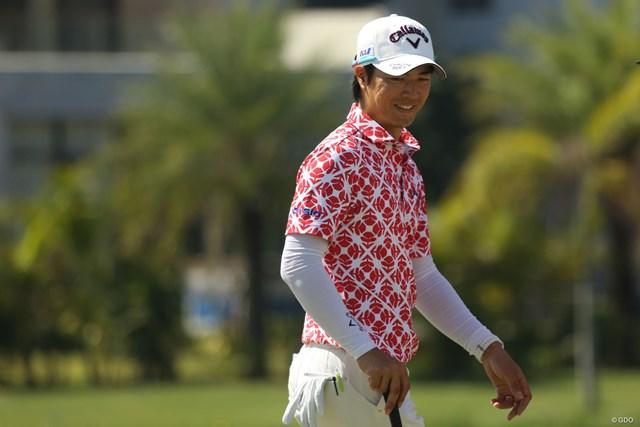石川遼はシーズン2戦目。ミャンマーは初めて降り立った土地だ