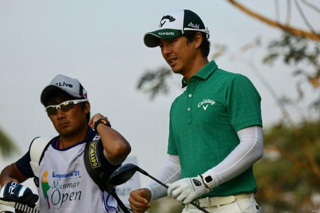石川遼は通算1オーバーに後退して予選ラウンドを終えた