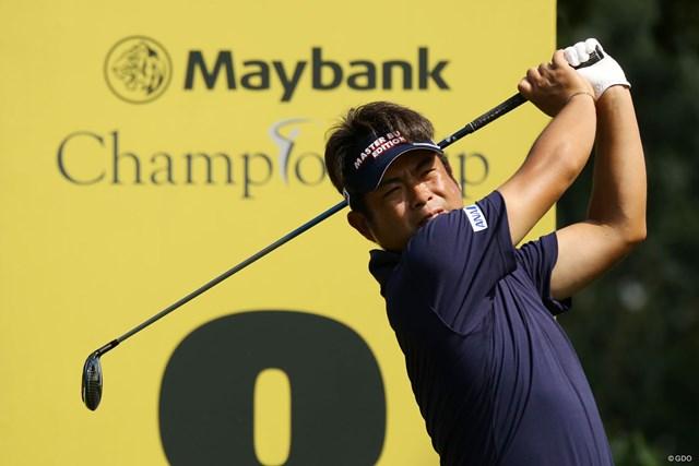 プロアマ戦でコースをチェック。池田勇太は帰ってきたマレーシアでの活躍を期す