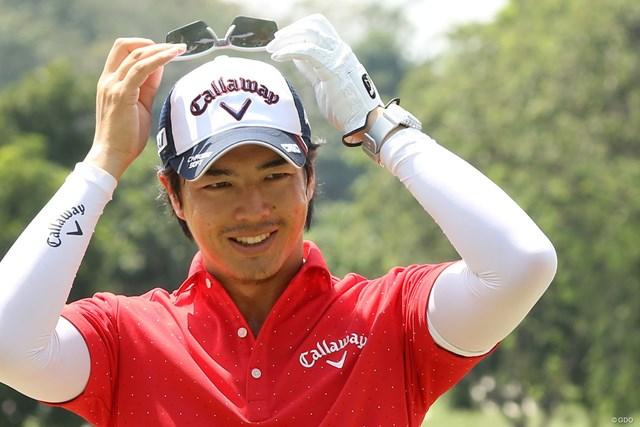 石川遼は開幕前日にコースの練習場で調整した