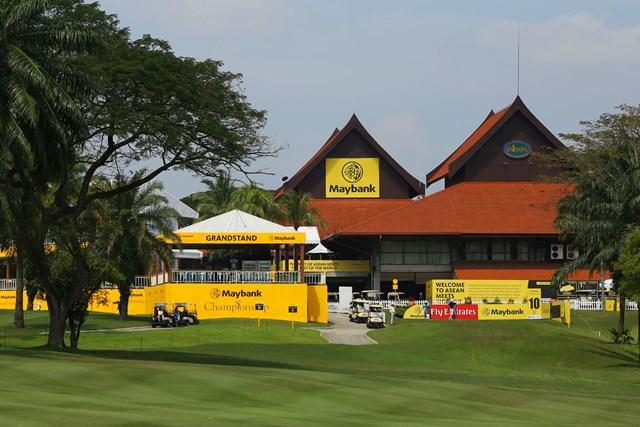 メイバンク選手権は賞金総額300万ドルがかかるビッグトーナメント。アジアを代表する試合です