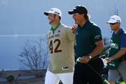2018年 ウェイストマネジメント フェニックスオープン 3日目 ジョン・ラームとフィル・ミケルソン