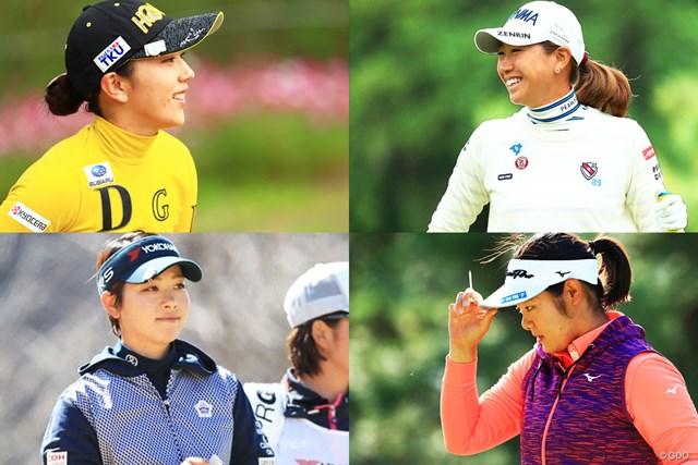国内女子ツアーの選手に多いAB型