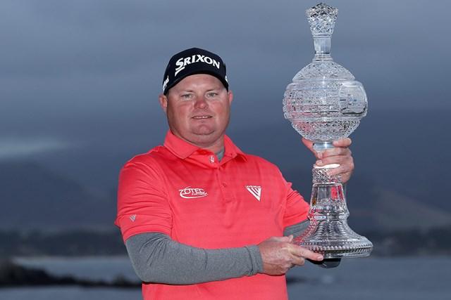 2位に3打差をつけて優勝したテッド・ポッターJr(Warren Little/Getty Images)
