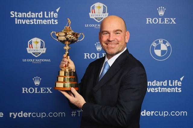 ライダーカップで欧州主将を務めるビヨーンは中東で3つ目のタイトルを狙う(Andrew Redington/Getty Images)