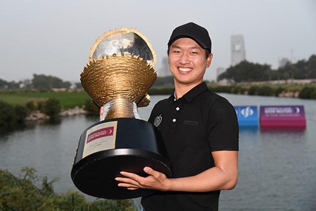 昨年は韓国の王情訓がツアー3勝目を遂げた(Ross Kinnaird/Getty Images)