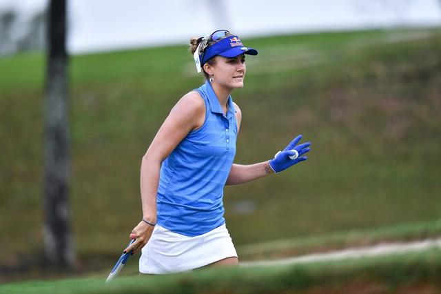 2018年 ホンダ LPGAタイランド 初日 レキシー・トンプソン 首位タイで発進したレキシー・トンプソン(Thananuwat Srirasant/Getty Images)