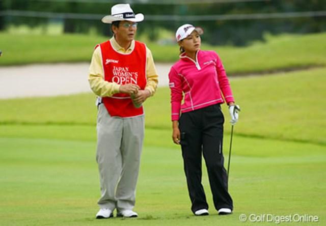 2006年 日本女子オープンゴルフ選手権競技 初日 横峯さくら 2アンダー、2位タイスタートはキャディのおかげ?!