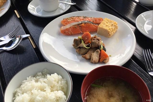 2018年 ISPS HANDA ニュージーランドオープン 事前 ニュージーランドの食事 ニュージーランドでまさかの和食の朝ごはん