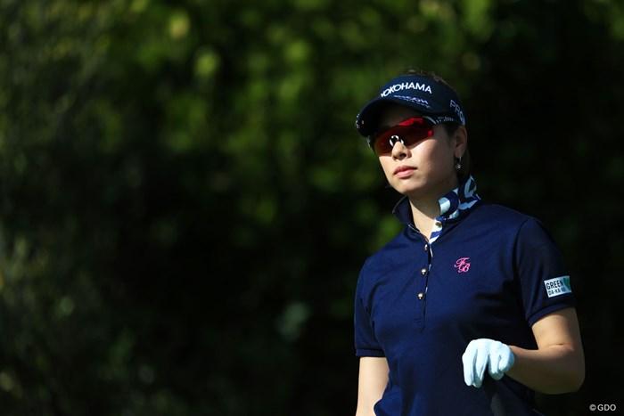 2アンダー発進期待しちゃうよ 2018年 ダイキンオーキッドレディスゴルフトーナメント 初日 森田理香子