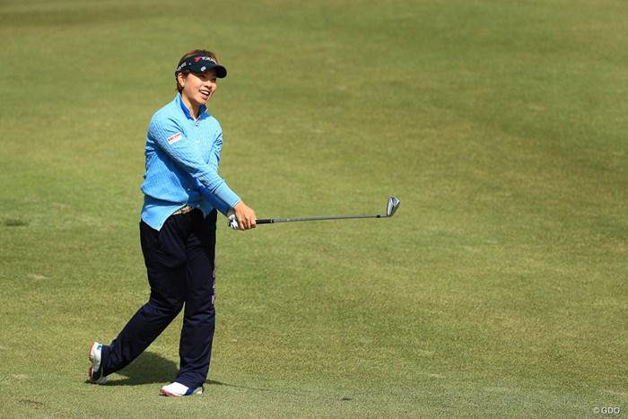 1つでもバーディーが今日は欲しかった 2018年 ヨコハマタイヤゴルフトーナメント PRGRレディスカップ 初日 森田理香子