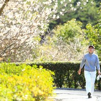 もうすぐ春ですね 2018年 ヨコハマタイヤゴルフトーナメント PRGRレディスカップ 初日 江澤亜弥
