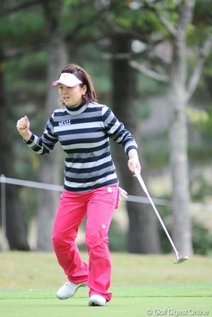 ほぼシードが見えたか。賞金ランク50位の廣瀬友美は9位タイ