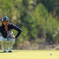 予選敗退ですが応援してる選手の一人 2018年 ヨコハマタイヤゴルフトーナメント PRGRレディスカップ 2日目 若林舞衣子