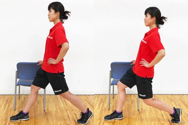 <ゴルフと筋肉>股関節まわりのストレッチ 簡単なので、デスクワークの合間などに取り入れてみては