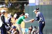 2018年 アクサレディスゴルフトーナメント in MIYAZAKI 2日目 新垣比菜&原英莉花