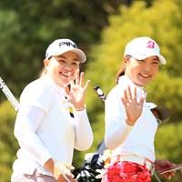 いいじゃん、いいじゃん 2018年 アクサレディスゴルフトーナメント in MIYAZAKI 2日目 小倉ひまわり&高橋彩華