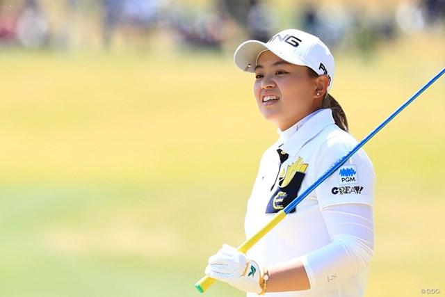 2018年 アクサレディスゴルフトーナメント in MIYAZAKI 2日目 小倉ひまわり 元気で明るい19歳。小倉ひまわりは大輪の花を咲かせるか