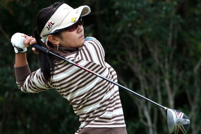 2009年 LPGAツアー選手権最終日 宮里藍 暫定16位で明日の最終ラウンドに臨む宮里藍(Koichi Kamoshida /Getty Images) ※画像は09「ミズノクラシック」