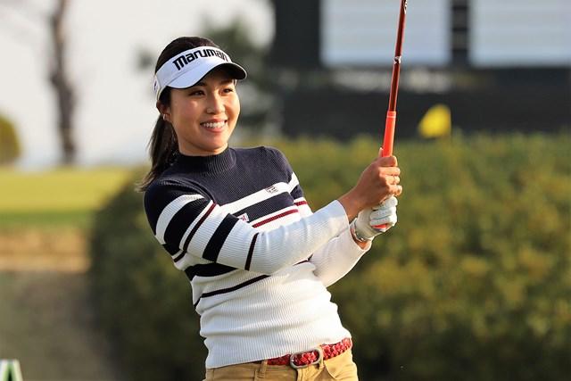 首位タイで発進した井上りこ※日本女子プロゴルフ協会提供