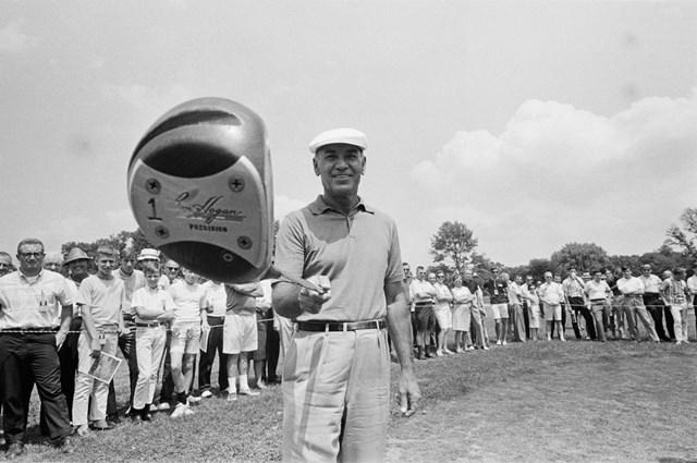 飛距離のあるティショットこそゴルフ最大の武器だというベン・ホーガン(Bettmann/Getty Images)
