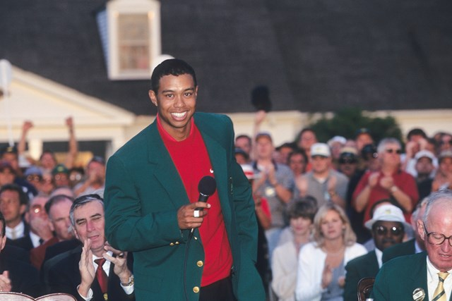 1997年のマスターズ。そのとき歴史は変わった (Photo by Sam Greenwood/PGA TOUR Archive)
