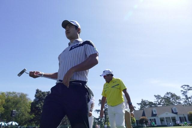 松山英樹は世界6位でマスターズを迎える