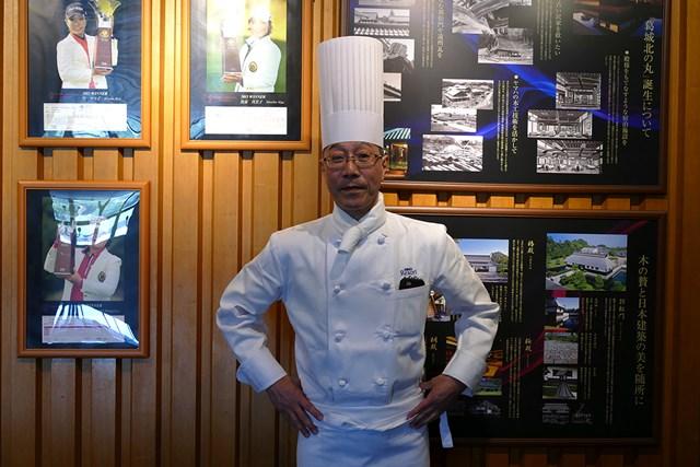 総料理長の入江さん。選手たちを陰でサポートした