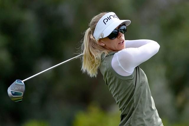 ピンゴルフの女性専用モデル「G Leドライバー」でメジャーを制したパニーラ・リンドベリ(Robert-Laberge/GETTY IMAGES)