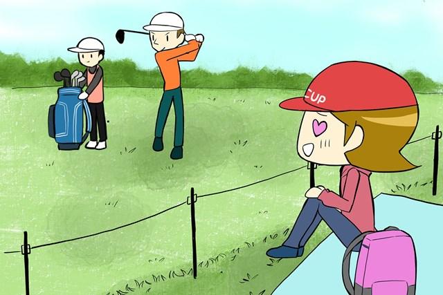 """編集部J子が教える!初めての「ゴルフ観戦」基本の""""き"""" 選手と目が合っちゃった!なんてこともあるかも…"""