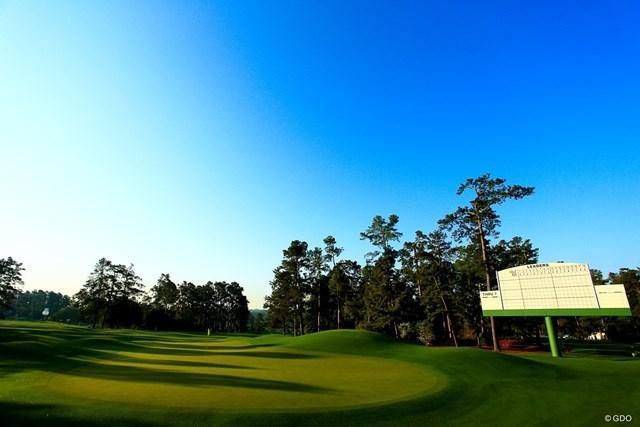 2018年 マスターズ 事前 オーガスタ 美しきオーガスタ。世界中のゴルファーにとって憧れの場所