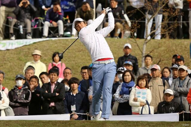 2日間競技で石川遼は単独首位発進を決めた