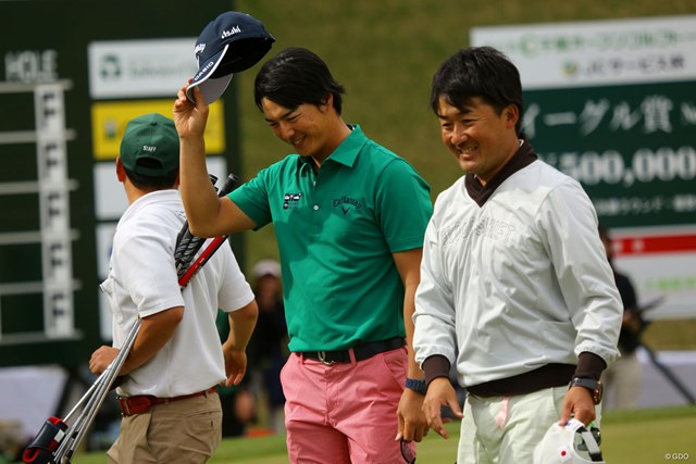 石川遼は1打差での勝利を控えめに喜んだ