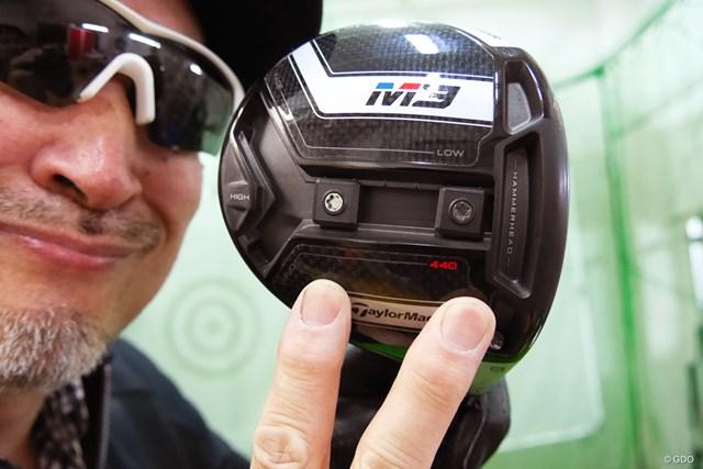 「M3 460」にコントロール性能をプラス「テーラーメイド M3 440 ドライバー」をマーク金井が徹底検証