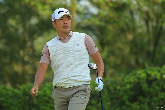 熊本出身の永野竜太郎。8位タイで決勝ラウンドに進んだ