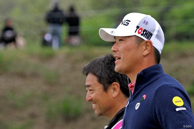 熊本県出身の永野竜太郎はキャップに付けてティオフ