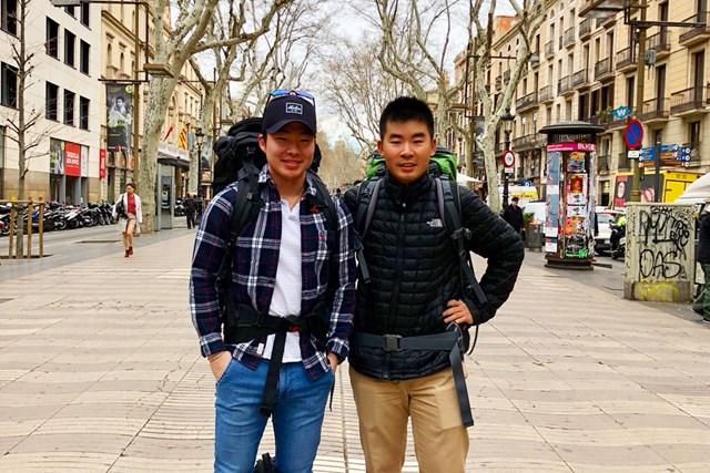 2018年 川村昌弘 スペイン、ポルトガルへ。ロンドンに住む学生時代の友とオトコ旅!