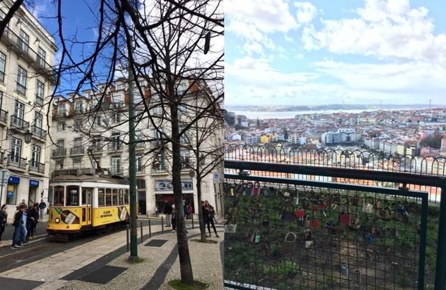 2018年 ポルトガルの街並み リスボンの景色も最高でした
