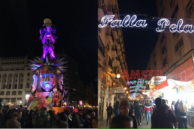 2018年 バレンシアの夜 スペイン・バレンシアで有名な火祭りにも行ってきました