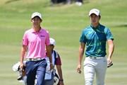 2018年 パナソニックオープンゴルフチャンピオンシップ 初日 星野陸也、大堀裕次郎