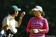 LPGAツアーチャンピオンシップリコーカップ初日/黄アルム