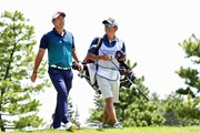 2018年 パナソニックオープンゴルフチャンピオンシップ 2日目 堀川未来夢 清水キャディ