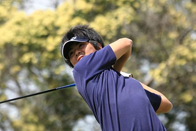 2006年 アイゼンハワートロフィー世界アマチュアゴルフチーム選手権 宇佐美祐樹 2アンダー、個人戦で3位タイに入った宇佐美祐樹(写真提供/日本ゴルフ協会)